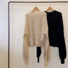 TODAYFUL Slit Sleeve Knit