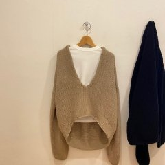 TODAYFUL Uneck Hand Knit