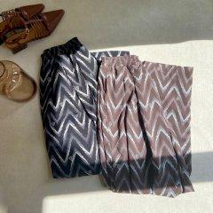 SELECT native print pants