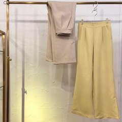 SELECT color slit pants