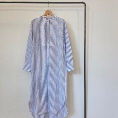 SELECT stripe shirt one-piece