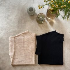 SELECT square sleeve linen knit<img class='new_mark_img2' src='https://img.shop-pro.jp/img/new/icons16.gif' style='border:none;display:inline;margin:0px;padding:0px;width:auto;' />