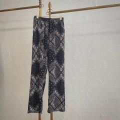 SELECT scarf print pants