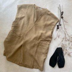 SELECT linen touch box vest