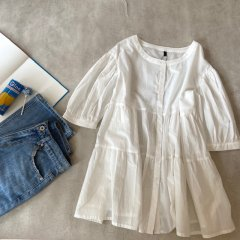 SELECT tiered blouse