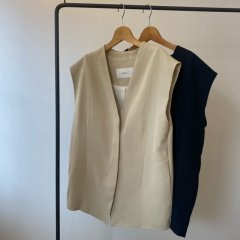 TODAYFUL Collarless Twill Vest