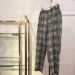 SELECT peacock print pants