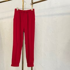 SELECT centerseam color jogger pants(RED)