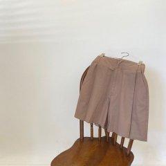 SELECT design tuck half pants