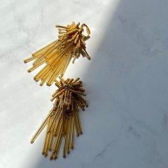 TODAYFUL Fringe Beads Earring