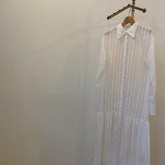 TODAYFUL Sheerstripe Shirts Dress