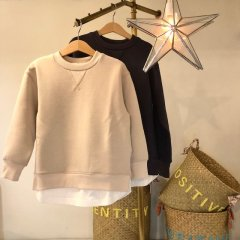 baby layered pullover