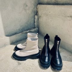 SELECT center fastener short boots