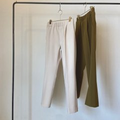 SELECT tuck tapered pants