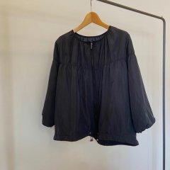 SELECT washer taffeta shirring jacket