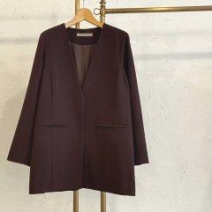 SELECT colllarless jacket
