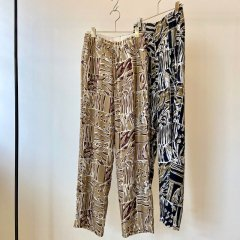 TODAYFUL Patchwork Pattern Trousers