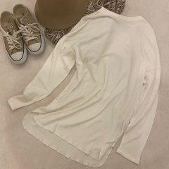 TODAYFUL Doubleface Slit Long T-Shirts
