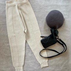 TODAYFUL Pintuck Knit Pants
