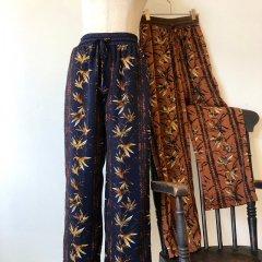 SELECT flower print pants