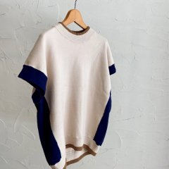 SELECT mock neck knit vest