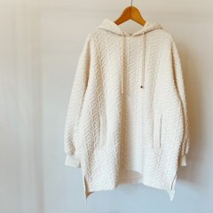 SELECT jacquard hoodie