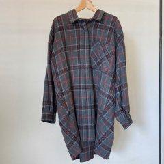 SELECT Over tuck check shirt