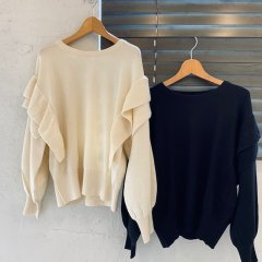 SELECT frill knit