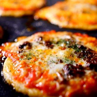 竜源米のピザ