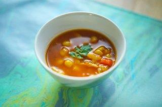 白いんげん豆のスープ