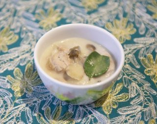 ココナッツミルクスープ