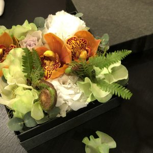 静岡の花屋|ももはな|季節のフラワーボックス|flower box¥4000