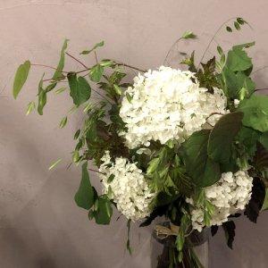 静岡の花屋 ももはな 季節の花でお任せ花束 bouquet natural 3000円~