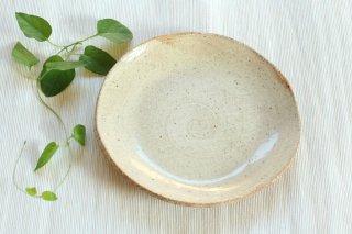 【幻窯】【パン皿・とり皿に】ベージュ丸皿