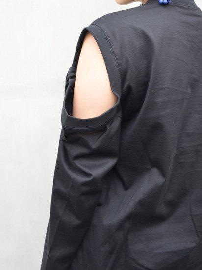 TOGA PULLA Silket jersey long sleeves