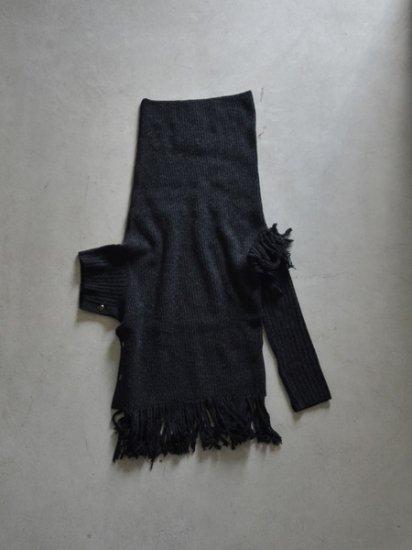 UJOH Fringe Unbalance Knit