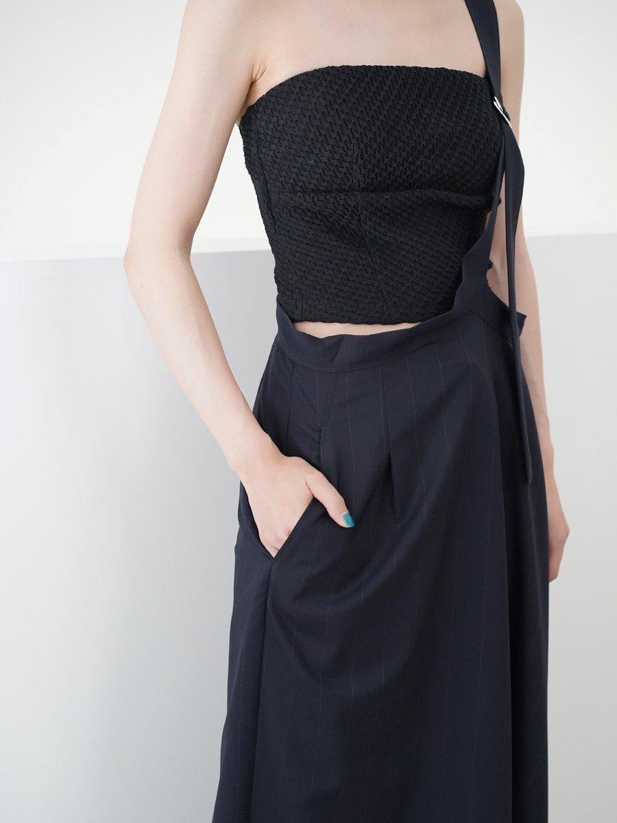 UJOH Single Strap Asymmetry Skirt