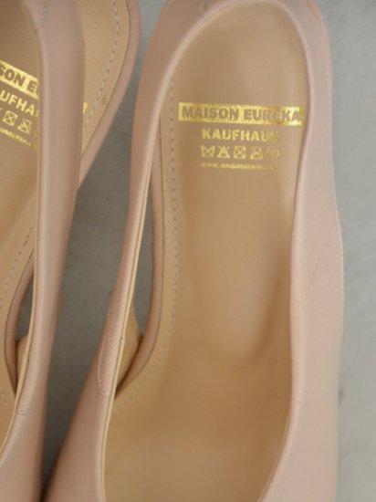 MAISON EUREKA SLING BACK HEELS (beige)