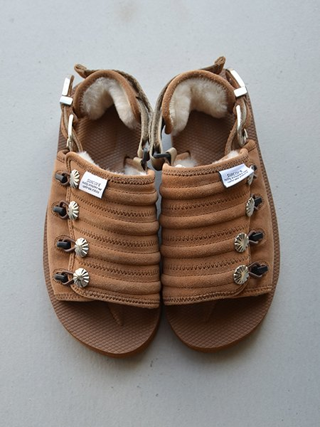 TOGA PULLA×SUICOCKE MURA SP mouton-BROWN-