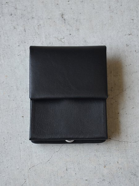 EDROBERT JUDSON  FLAT OIL SMOOTH MINI WALLET