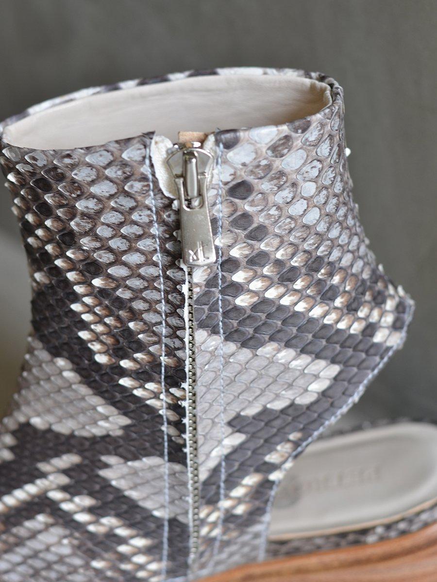 Altamira×PETROSOLAUM Side Zip Boots Sandal