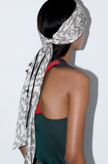 TOGA PULLA Print scarf