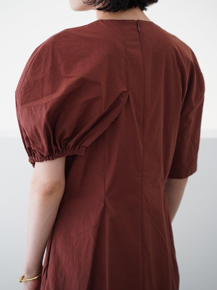AKIRA NAKA Morgan cotton dress
