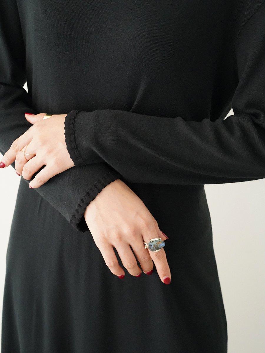 AKANE UTSUNOMIYA back lace dress