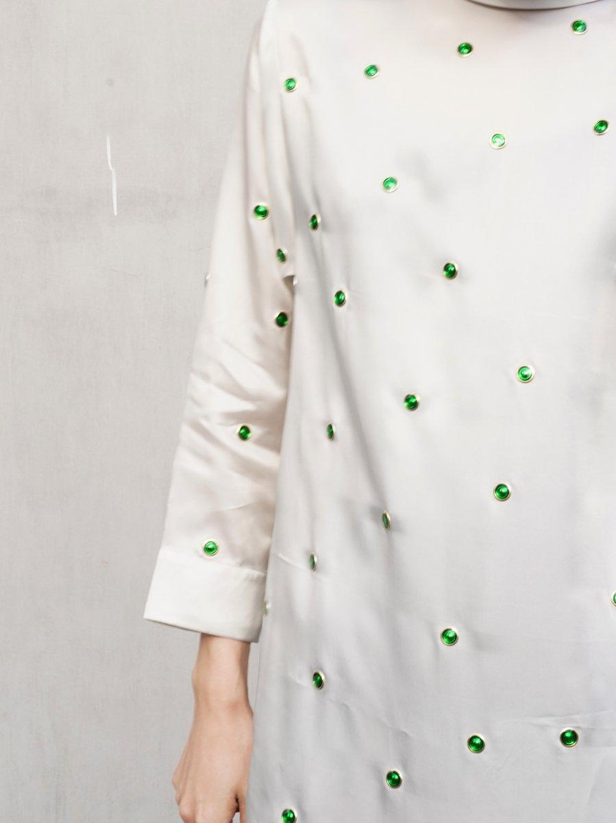 TOGA PULLA Inner fringe dress