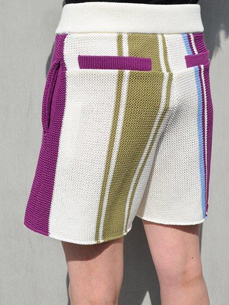 AKIRA NAKA Veer Knit shorts pants