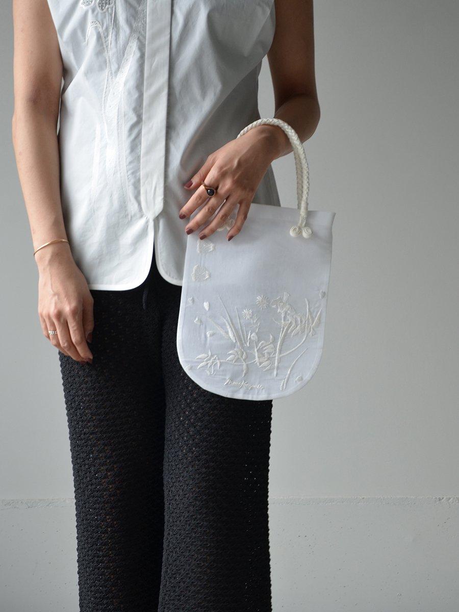 MameKurogouchi Floral Embroidered Mini Handbag