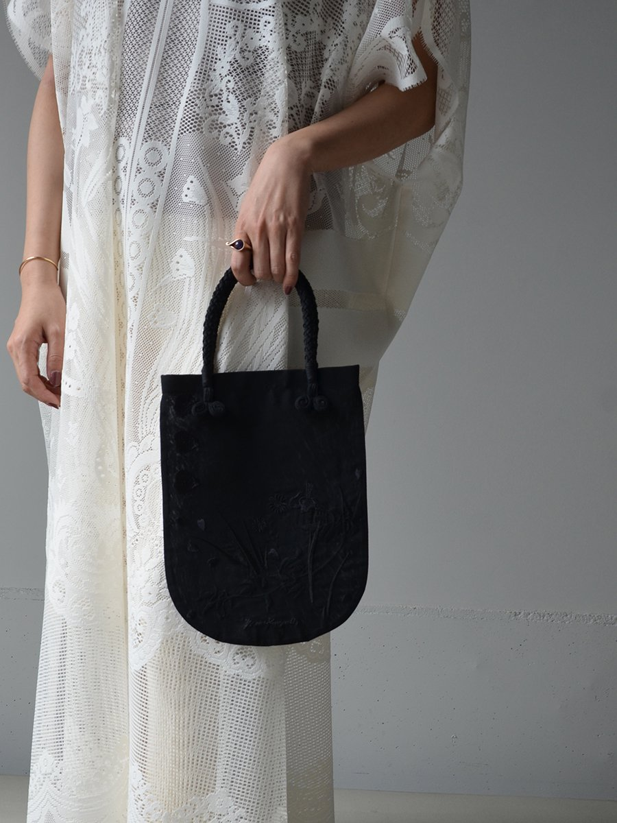 MameKurogouchi Floral Embroidered Mini Handbag