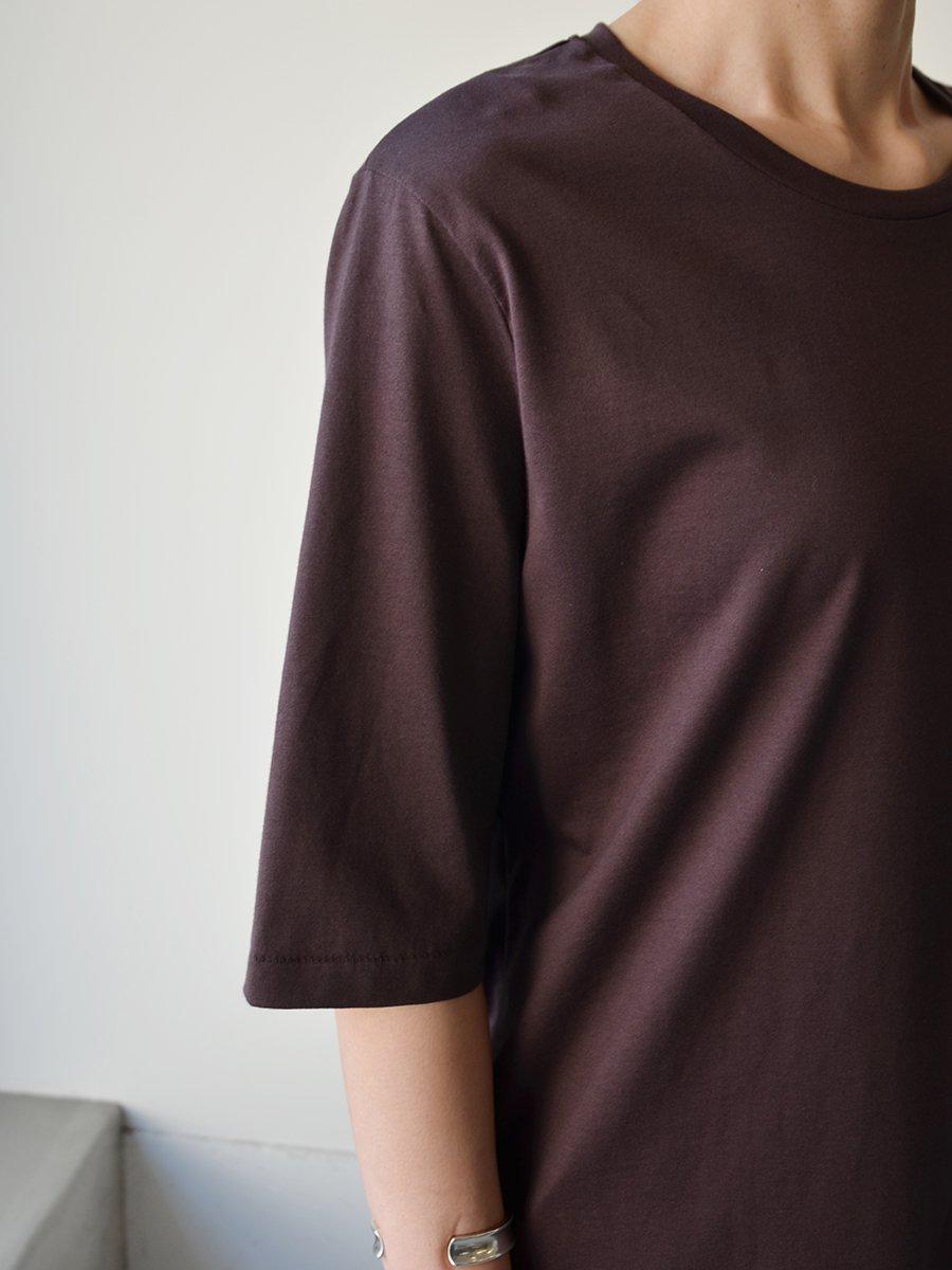 Aton Suvin60/2 Round Hem T-shirt