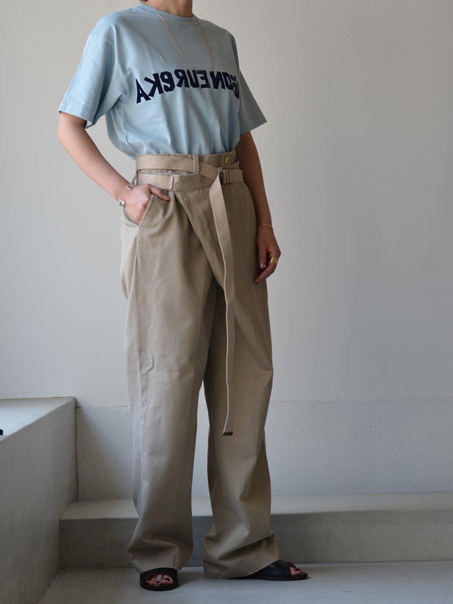 MAISON EUREKA FLOCKY ME LOGO T-shirts